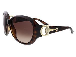 Gucci GG3712 N/S LSD Dark Havana Oval Gucci Sunglasses