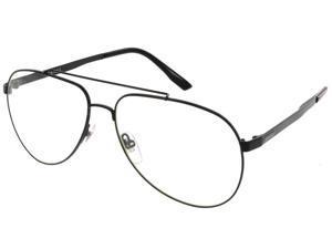 Gucci GG 1912/S PDE Matte Black Aviator Sunglasses
