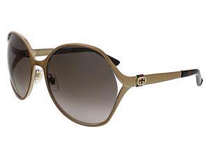 Gucci GG4280/S 1JF Chocolate   Round Gucci Sunglasses