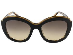 Salvatore Ferragamo SF726S 006 Black Havana Butterfly sunglasses