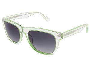 Dsquared DQ0174/S 27C Crystal/Lime Green Square sunglasses