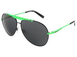 Dsquared DQ0177/S 05A Lime Green/Black Aviator sunglasses