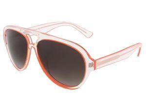 Dsquared DQ0182/S 26B Crystal/Orange Tear-Drop Aviator sunglasses