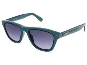 Dsquared DQ0169/S 96W Sea Green/Dark Blue Wayfarer sunglasses