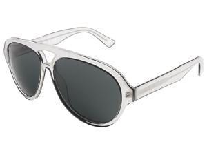 Dsquared DQ0182/S 26A Crystal Grey/Black Tear-Drop Aviator sunglasses