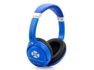 iRunzo K898 On Ear Stereo Cell Phone Wireless Bluetooth Headset Support Micro SD Card MP3 Outdoor Sports Headphone (Blue)