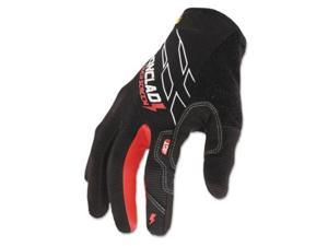 Touchscreen Gloves Black/Red Large