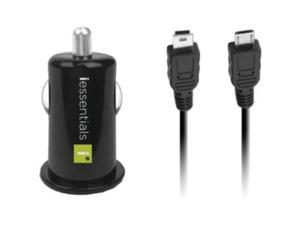 Iessentials IESSENTIALS IE-PCP-2C USB Car Charger with Micro & Mini Cables IE...
