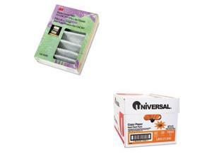 Shoplet Best Value Kit - Filtrete Replacement Filter (MMMOAC100RF) and Univer...