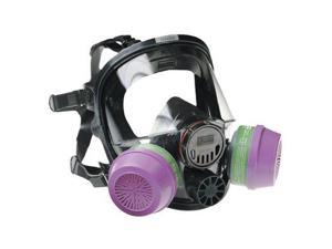 North safety 7600 Series Silicone Full Facepiece Respirators - 760008A SEPTLS...