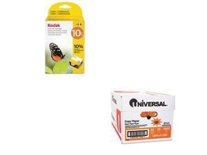 Shoplet Best Value Kit - Kodak 8946501 Ink (KOD8946501) and Universal Copy Pa...