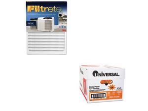 Shoplet Best Value Kit - Filtrete Replacement Filter (MMMOAC150RF) and Univer...
