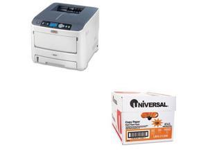 Shoplet Best Value Kit - Oki C610n Laser Printer (OKI62433401) and Universal ...