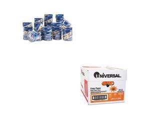 Shoplet Best Value Kit - Duck HP260 Packing Tape (DUC1288647) and Universal C...