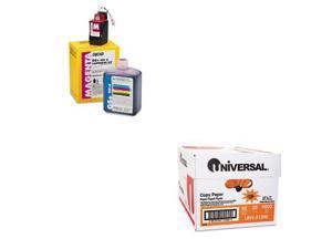 Shoplet Best Value Kit - Kodak 21296300 Ink (ECD21296300) and Universal Copy ...
