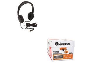 Shoplet Best Value Kit - Kensington Hi-Fi Headphones (KMW33137) and Universal...