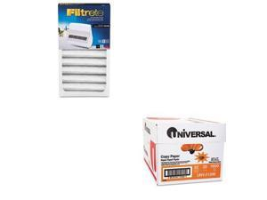 Shoplet Best Value Kit - Filtrete Replacement Filter (MMMOAC200RF) and Univer...