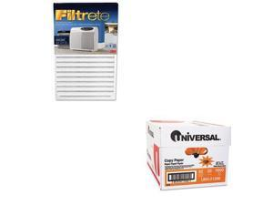 Shoplet Best Value Kit - Filtrete Replacement Filter (MMMOAC250RF) and Univer...