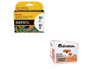 Shoplet Best Value Kit - Kodak 2880674 Color Combo 30 Ink (KOD8781098) and Un...