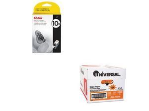 Shoplet Best Value Kit - Kodak 1163641 10B Ink (KOD1163641) and Universal Cop...