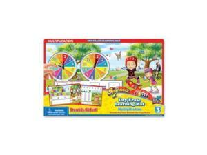 The Board Dudes SpinnerZ Dry-erase Learning Mat BDU99103UA12
