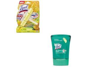LYSOL Brand Value Kit - LYSOL Brand No Mess Max Automatic Toilet Bowl Cleaner...