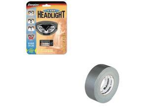 Energizer Value Kit - Energizer LED Headlight (EVEHDL33A2E) and Universal Gen...