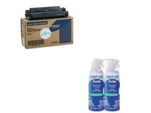 Troy Value Kit - Troy 0218583001 03A Compatible MICR Toner (TRS0218583001) an...