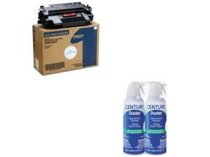Troy Value Kit - Troy 0217310001 98A Compatible MICR Toner (TRS0217310001) an...