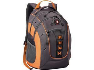 "Wenger GRANITE Carrying Case (Backpack) for 16"" Notebook - Fog, Orange 2TW9713"