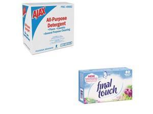 Ajax Value Kit - Ajax Low-Foam All-Purpose Laundry Detergent (PBC49682) and F...