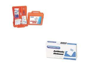 PhysiciansCARE Value Kit - PhysiciansCARE Weatherproof First Aid Kit for 50 P...
