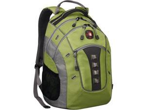 """Wenger GRANITE Carrying Case (Backpack) for 16"""" Notebook - Green, Gray 2TW9711"""