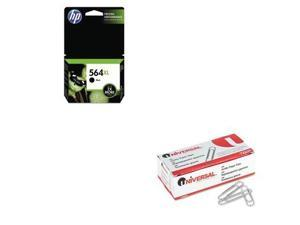 Shoplet Best Value Kit - HP 564XL (HEWCN684WN) and Universal Smooth Paper Cli...