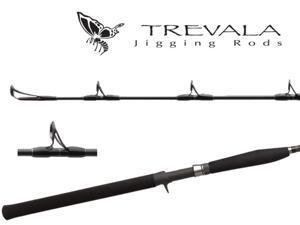 """Shimano Trevala 5'8"""" Extra Heavy Jigging Rods TVC58XH"""