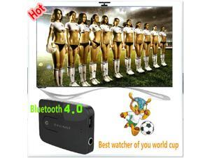 2014 NEW Syllable E3 One with Two Blutooth box 3.5mm 4.0 Version Bluetooth Transmitters for Computer and TV Black color