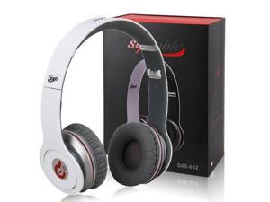 Syllable G05 Wired Headset Noise Reduction Cancellation Headphone Foldable for Apple iPad iPod iPhone White