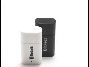 20pcs / lot PT810 Mini 3.5mm USB Bluetooth Audio Receiver Adapter A2DP for iPhone/iPad/iPod Smartphone Speaker