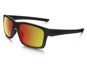 Oakley Mainlink Sunglasses OO9264-07 Matte Black Frame / Ruby Iridium Polarized Lens