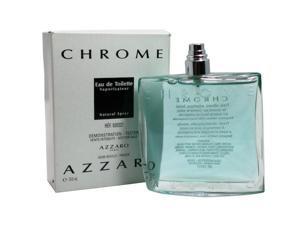 Azzaro Chrome 3.4 oz 100ml Eau de Toilette EDT for Men (Tester)