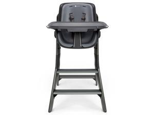4 Moms High Chair, Black/Grey