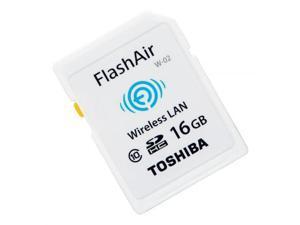 16GB Toshiba FlashAir Wi-Fi LAN W-02 SDHC CL10 memory card