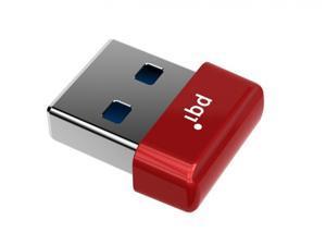 64GB PQI U603V USB3.0 Ultra-small Flash Drive Red Edition