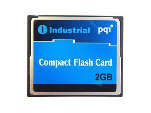 2GB PQI Industrial Temperature Range CompactFlash Card AC46 (With Samsung SLC Flash)