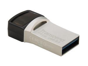 64GB Transcend JetFlash 890S OTG Flash Drive with USB3.1 and USB Type-C Connectors