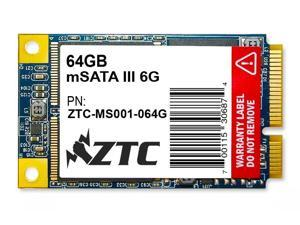 64GB ZTC Bulwark V2 mSATA 6G 50mm Solid State Disk - ZTC-MS001-064G