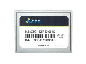 64GB ZTC Cyclone 40-pin ZIF 1.8-inch PATA SSD Enhanced Solid State Drive - ZTC-18ZIF40-064G
