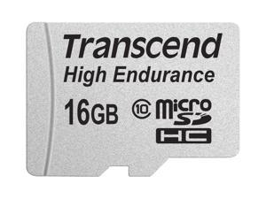 16GB Transcend High Endurance MicroSDHC Card CL10 w/SD Adapter