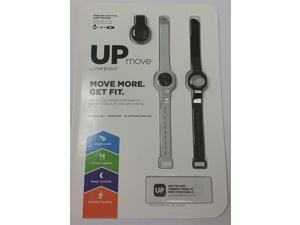 UP Move by Jawbone -- Bundle with Clip and Two extra bands (Black & Gray)