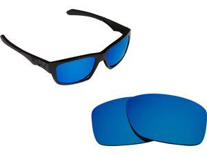 New SEEK Replacement Lenses for Oakley Sunglasses JUPITER SQUARED Blue Mirror
